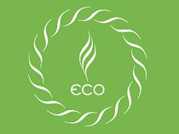 江苏首届节能环保CI/VI LOGO标志视觉简洁设计