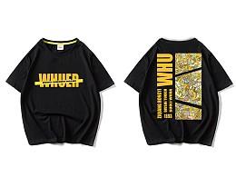 武汉大学主题文化衫设计