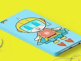 玩上天---航空大世界卡通形象设计(剑释和希瑞)