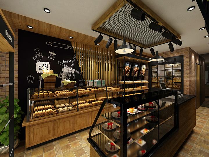 《烘焙品牌空间形象装修设计》——成都烘焙店装修设计 成都烘培店图片