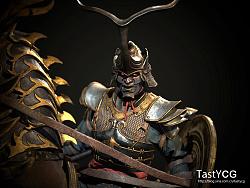 泰斯丁(TastyCG)学员杜相伯作品-《Knight》