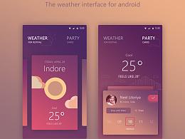 安卓端天气app
