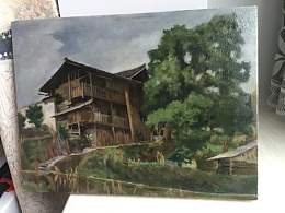家乡莱胜爷爷家。