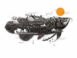 关于洛阳三彩杯文创比赛插画设计