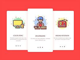 音乐电台app redesign