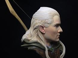 魔戒——精灵王子 莱格拉斯 涂装完成