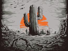| 昆塔 | 《反转星球》电影海报插画