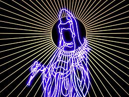 霓虹灯下玛利亚-LED供菩萨