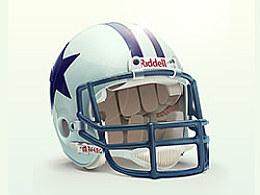 写实橄榄球头盔