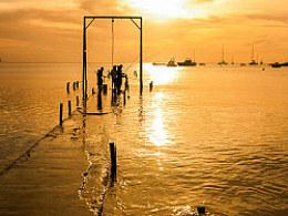 The Mauritius sea