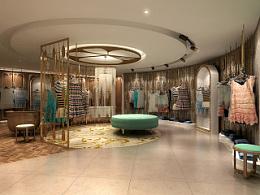Missoul 女装品牌-店铺设计