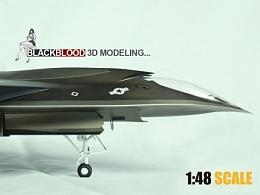 3D打印试验品艾迪战机