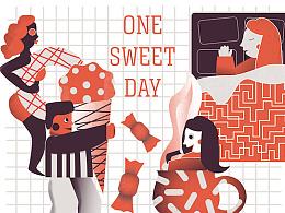 One Sweet Day 之 冰淇淋和甜甜圈