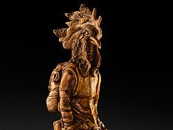 """以铜为档  """"新艺传世"""" 邵弓《生肖探险家-鸡》 青铜雕塑"""