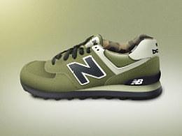 NewBalance574慢跑鞋