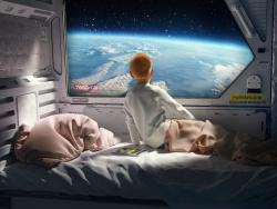 《曾经的家》 三维科幻场景作品 by sampps