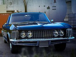 CGI汽车摄影 Bucik Riviera 1963