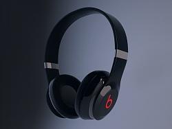 beats(魔声)耳机渲染图