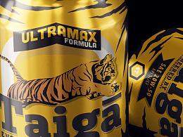 老虎 ultramax 配方机油包装设计