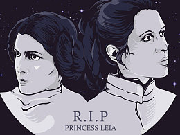 R.I.P. Princess Leia