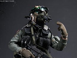 海豹5队 VBSS - 小队队长(绿盔)& 指挥官(红盔)