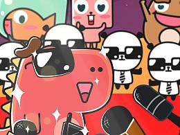【魔格】P派-找到有趣的你(可爱漫画风品牌IP宣传动画)
