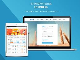 互联网金融企业网站