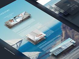 一个品牌的天猫站网页设计