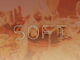 《菜菜双边体 SOFT》字体设计