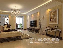 英地金台府邸163平四室两厅简欧风格装修效果图