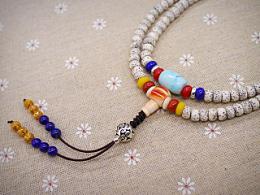 DIY南红、绿松石、青金石配珠星月菩提手串
