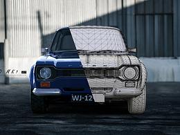 Ford mk1 渲染