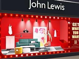 [作品集]John Lewis 橱窗设计