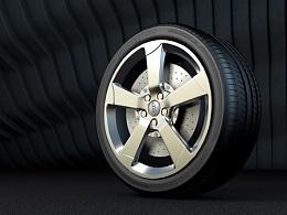 轮胎渲染测试