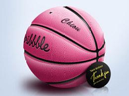 质感篮球一枚