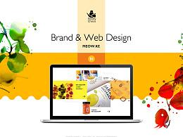 「MEOW」-果汁粒粒浓-鲜榨水果网页设计