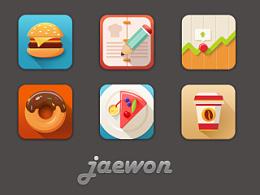 近期临摹icons