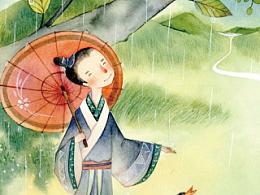 好雨知时节,当春乃发生。