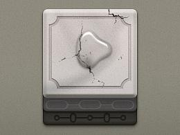 游戏UI—9块宝石+1滴水
