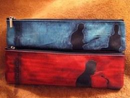 笔袋--红蓝
