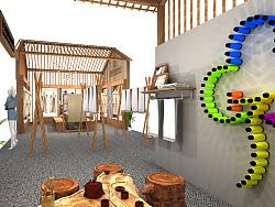 欣洁纺织展会设计方案