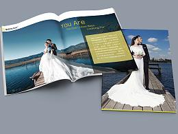皇宫婚纱摄影画册
