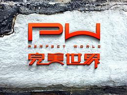 完美世界控股集团--大气简约logo