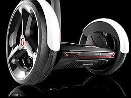品向工业设计  PXID  双轮平衡车设计  两轮平衡车设计--luqi