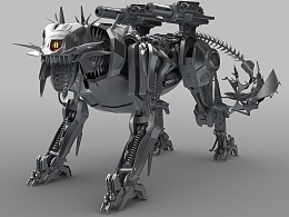 霸天虎机器狗