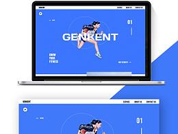 模仿运动创意网站