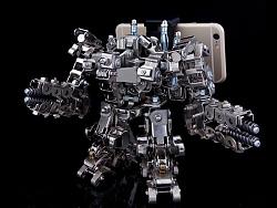 机械党2017作品 金属手机支架 星际争霸 雷神 模型
