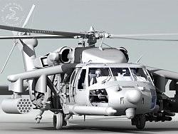 黑鹰直升机制作流程(建模教程部份)
