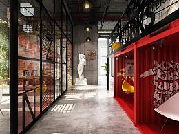 """""""H+ YOUTH ZONE""""联合办公空间设计 2012级室内设计专业毕业设计作品"""