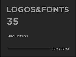 2013-2014部分logo及商业字体设计合集